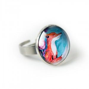 Fox pierścionek