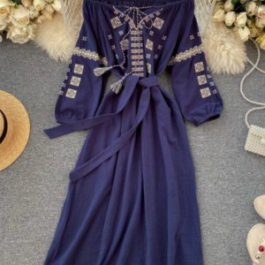 bawełniana biała sukienka oversize M/L