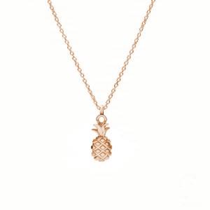 ANANAS- różowe złoto