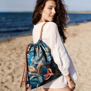 Kolorowy plecak worek