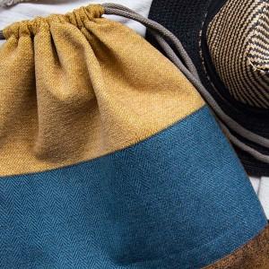 Kolorowy plecak worek w paski