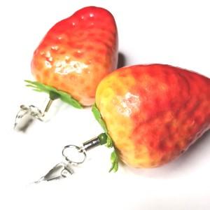 Klipsy truskawki duze