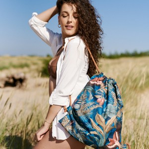 Kolorowy plecak torba 2w1
