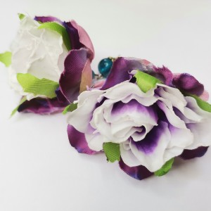 Kolczyki wkrętki kwiaty