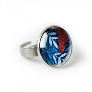 Jarzębina pierścionek