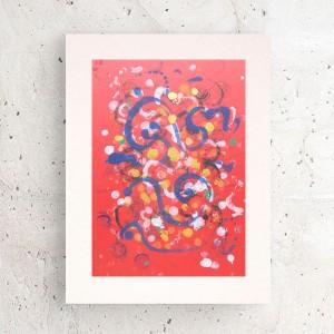 nowoczesna dekoracja na ścianę, abstrakcyjna grafika do pokoju, minimalizm rysunek do sypialni,