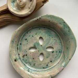 PALOLOPULI mydelniczka z podstaweczka na kadzidełko