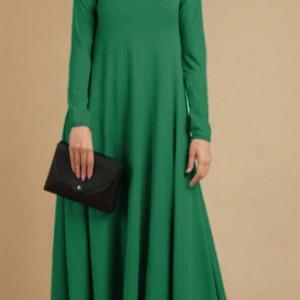 zielona sukienka dzianina rozmiar L