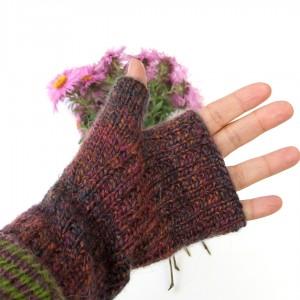 Mitenki ocieplacze na dłonie, rękawiczki bez palców