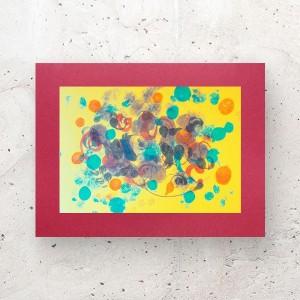 minimalizm dekoracja na ścianę, nowoczesny rysunek do sypialni, abstrakcja malowana ręcznie, grafika do loftu,