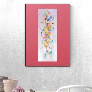 minimalistyczna dekoracja do sypialni, abstrakcyjny rysunek na ścianę, nowoczesna grafika do loftu, abstrakcja obrazek