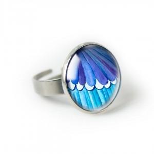 Modraszek pierścionek
