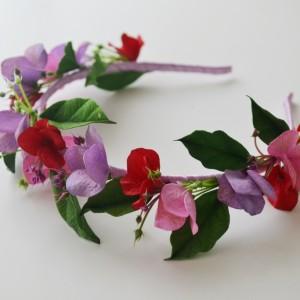 Opaska - kwiatу hortensji
