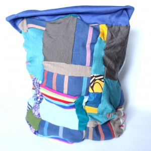 kolorowy damski patchworkowy komin