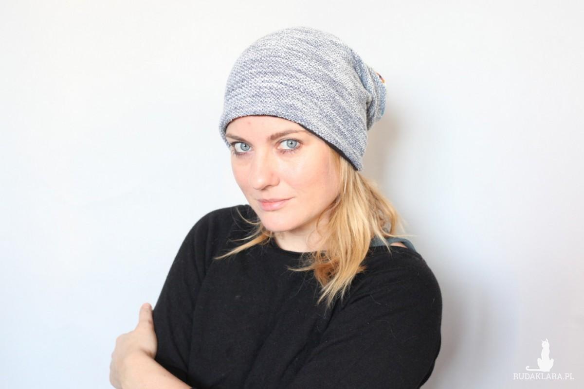 czapka handmade uboższa miłości wersja -perwersja. X1