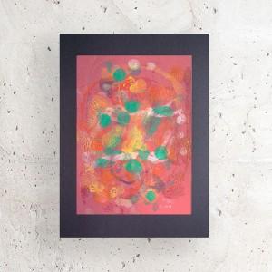 nowoczesna dekoracja, grafika abstrakcyjna