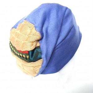 czapka damska dzianina z wełną dresowa
