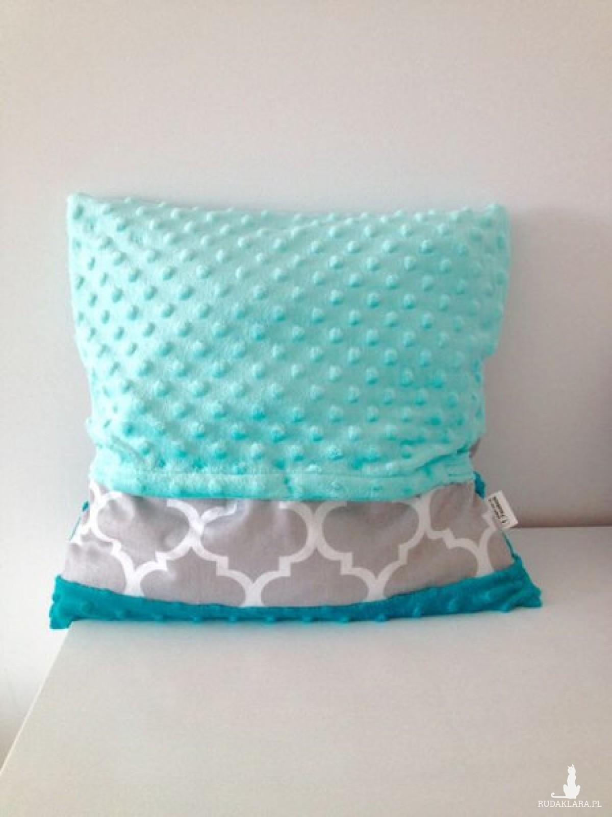 Poszewka na poduszkę minky bawełna