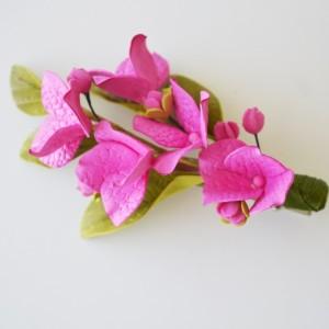 Spinka kwiaty hortensji