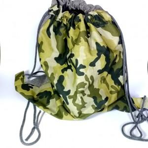 duży wojskowy plecak worek