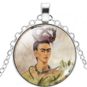 naszyjnik z Frida Kahlo