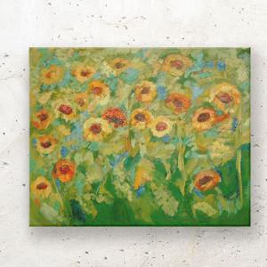 minimalizm  rysunek biało czarny, czarno biała grafika ze słonecznikiem, biało czarny obraz do loftu, skandynawski obraz na ścianę