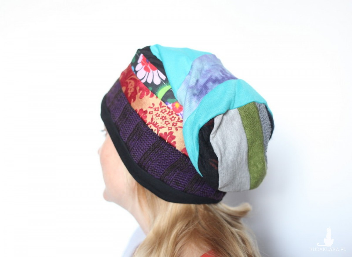 czapka damska handmade nie ściągaj galotów podczas zalotów A1