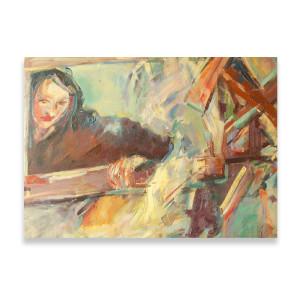 Aniołek obrazek, mały aniołek akwarela, aniołek do domu, aniołek na prezent, ręcznie malowany anioł