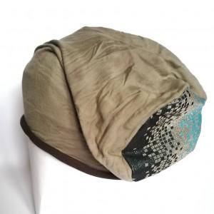 czapka dresowa smerfetka damska farbowana