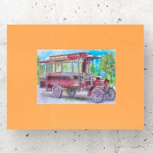 kolorowy plakat dla dzieci, ładny obrazek do dziecięcego pokoju, bajkowa ilustracja