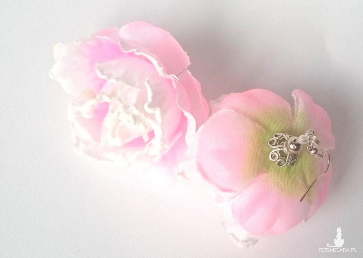 kolczyki gardenie jaśminowe