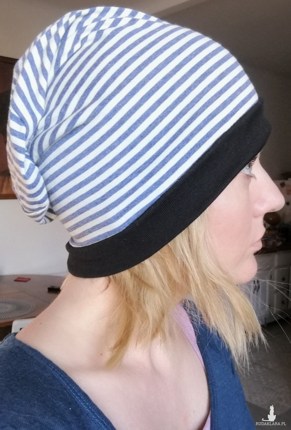 czapka damska męska unisex dzianina dzianina