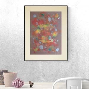abstrakcja do sypialni, abstrakcyjna grafika do pokoju, nowoczesna dekoracja na ścianę