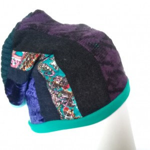 czapka patchworkowa etno orient boho