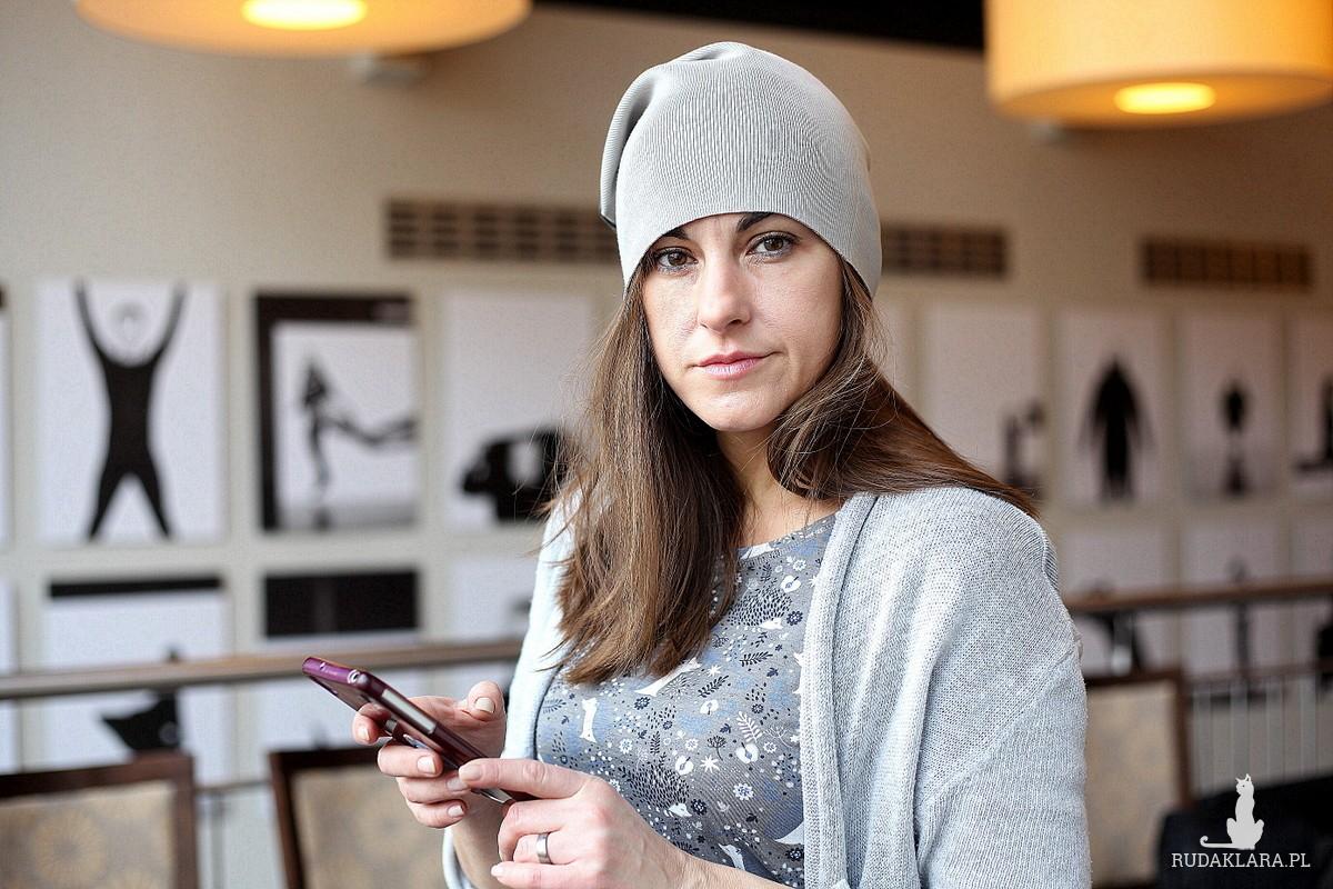czapka handmade unisex D1