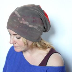 czapka dresowa handmade bawełniana