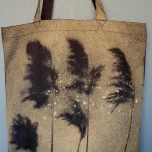 Trawy na wietrze - duuuża torba