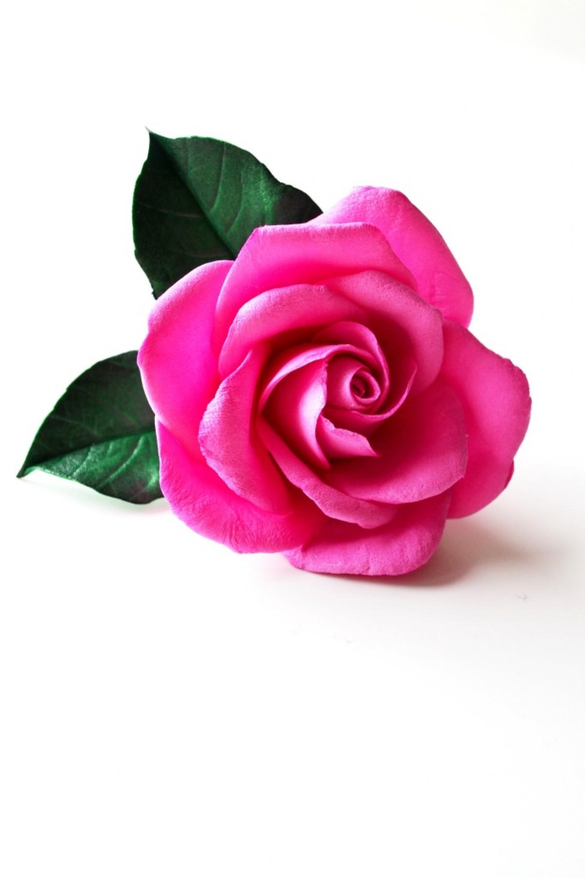 """Gumka do włosów """"Pink rose"""""""