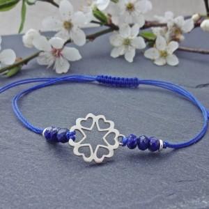 Bransoletka Serca Lapis Lazuli