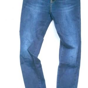 spodnie jeansy rurki zamek wąskie 36