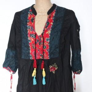 etniczna bluzka tunika