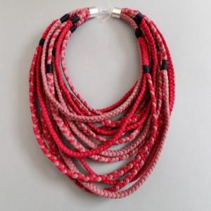 Naszyjnik ECOetnica etniczny masajka zamotka 019