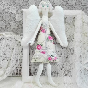 Anioł Kwiatowy, pastelowy (Kopia)
