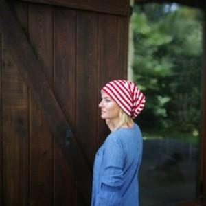 czapka damska męska unisex patriotka kibic biało-czerwoni