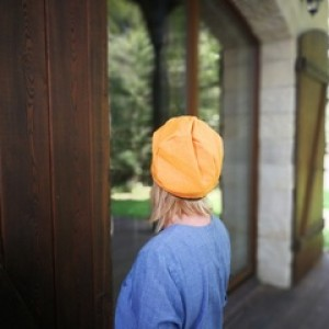 czapka damska na podszewce miękka