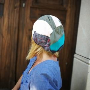 czapka damska patchworkowa boho orient