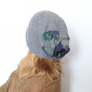 czapka handmade kret nie podsłuchiwał lisa bo mu zwisa