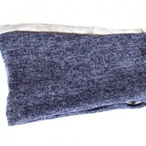 opaska handmade niebieska melanż