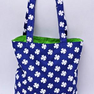 Torba na zakupy, torba shopperka, torba szoperka, eko siatka na zakupy koniczynka