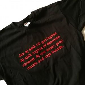 koszulka męska bawełniana z nadrukiem